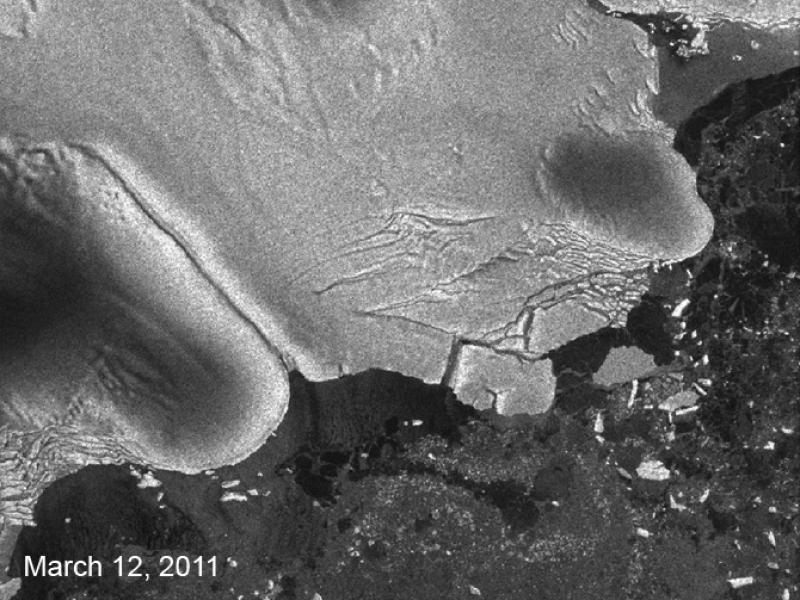 Zdjęcie wykonane 12 marca 2011 / ESA