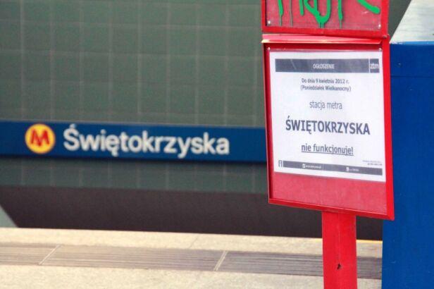 Stacja jest zamknięta od 21 marca Lech Marcinczak / tvnwarszawa.pl