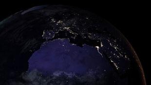 Zadziwiająca mapa Ziemi. Z kosmosu widać nas nawet w nocy