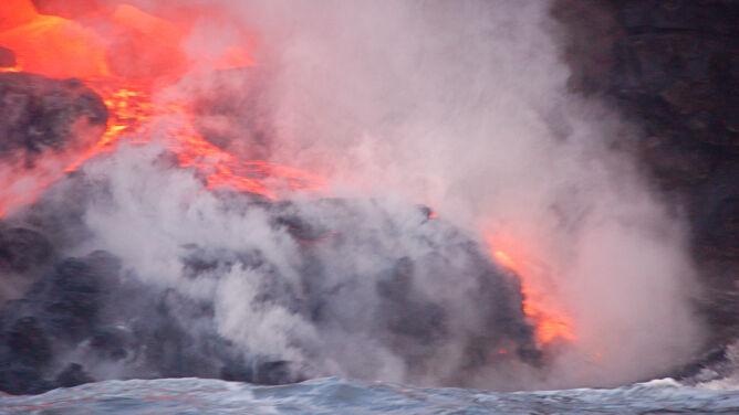 32 kilometry sześcienne lawy pod oceanem. <br />Potężny system wulkaniczny jest aktywny