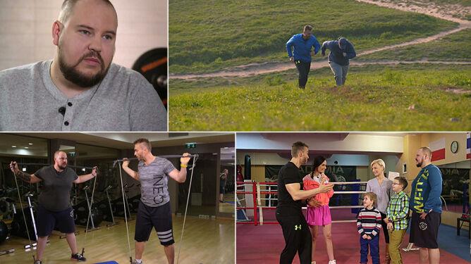 Stracił kontrolę i utył. Odzyskał ją, zrzucając ponad 15 kg w 8 tygodni