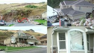"""Wzgórze """"połyka"""" dom. Katastrofalne skutki opadów"""