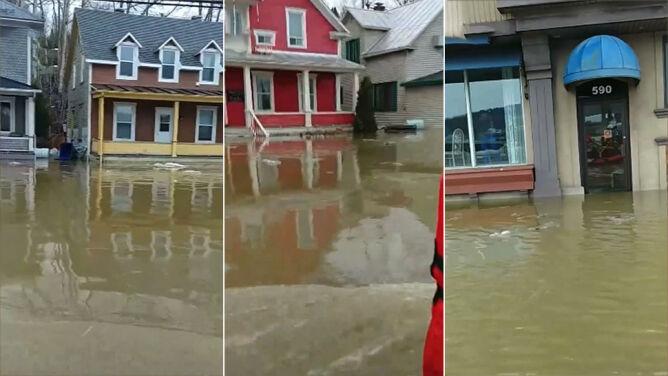 """Wiosenne roztopy przyniosły powódź. """"Schroniliśmy się na drugim piętrze"""""""