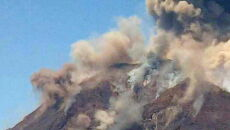 Erupcja wulkanu (PAP/EPA/Manfredi Musumeci)