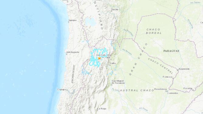 Trzęsienie ziemi w Argentynie